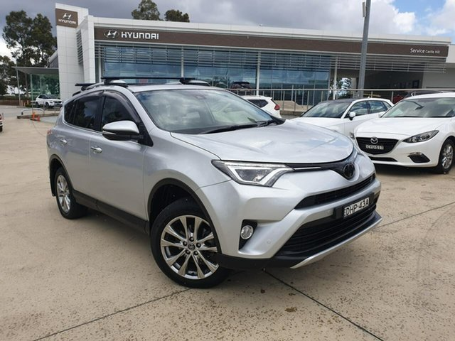 Used Toyota RAV4 ASA44R Cruiser AWD, 2016 Toyota RAV4 ASA44R Cruiser AWD Silver 6 Speed Sports Automatic Wagon