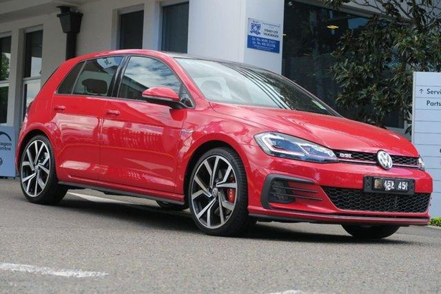 Demo Volkswagen Golf 7.5 MY20 GTI DSG, 2020 Volkswagen Golf 7.5 MY20 GTI DSG Red 7 Speed Sports Automatic Dual Clutch Hatchback