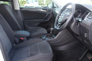 2017 Volkswagen Tiguan 5NA MY18 162 TSI Sportline Pure White 7 Speed Auto Direct Shift Wagon