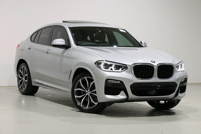 Used BMW X4 G02 MY19 xDrive 30i M Sport X, 2019 BMW X4 G02 MY19 xDrive 30i M Sport X Silver 8 Speed Automatic Coupe