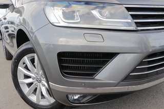 2015 Volkswagen Touareg 7P MY15 150TDI Tiptronic 4MOTION Canyon Grey 8 Speed Sports Automatic Wagon.
