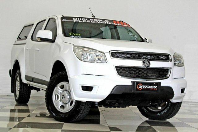 Used Holden Colorado RG MY16 LS (4x4) Burleigh Heads, 2015 Holden Colorado RG MY16 LS (4x4) White 6 Speed Automatic Crew Cab Pickup