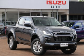 2020 Isuzu D-MAX RG MY21 LS-M Crew Cab Obsidian Grey 6 Speed Sports Automatic Utility.