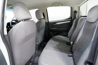 2013 Holden Colorado RG MY13 LX Crew Cab 4x2 White 6 Speed Sports Automatic Cab Chassis