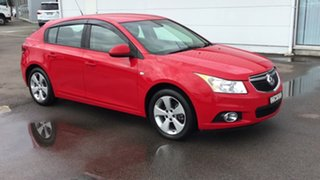 2013 Holden Cruze JH Series II MY13 Equipe Red 6 Speed Sports Automatic Hatchback.