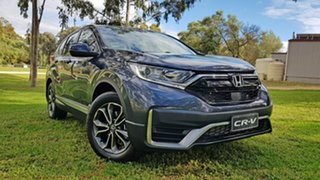 2020 Honda CR-V RW MY21 VTi 4WD L AWD Cosmic Blue 1 Speed Automatic Wagon