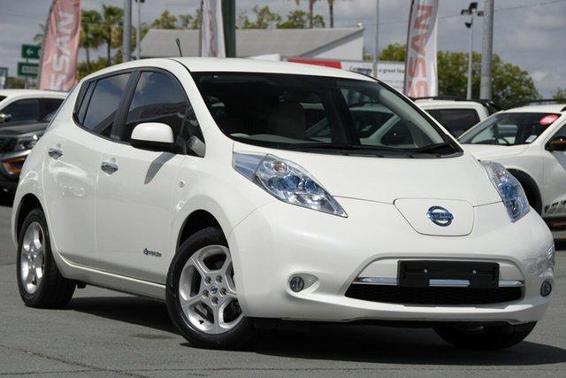 Used Nissan Leaf ZE0 , 2012 Nissan Leaf ZE0 White 1 Speed Reduction Gear Hatchback