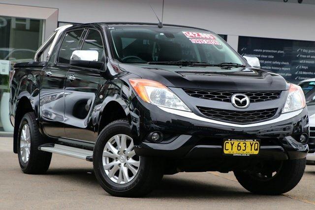 Used Mazda BT-50 UR0YF1 GT Homebush, 2015 Mazda BT-50 UR0YF1 GT Black 6 Speed Sports Automatic Utility