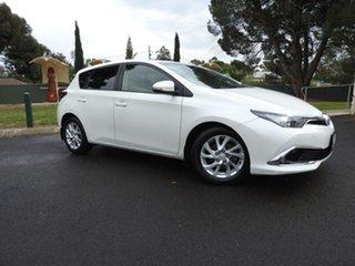 2015 Toyota Corolla SPORT White Automatic Hatchback.