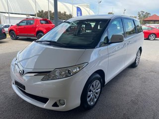 2018 Toyota Tarago ACR50R GLi White 7 Speed Constant Variable Wagon