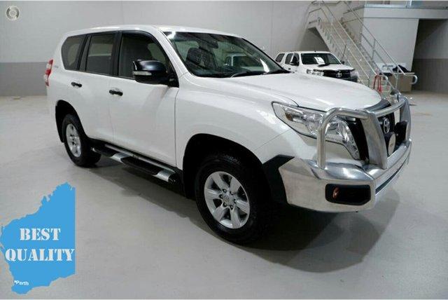Used Toyota Landcruiser Prado GDJ150R MY17 GX (4x4), 2017 Toyota Landcruiser Prado GDJ150R MY17 GX (4x4) White 6 Speed Automatic Wagon