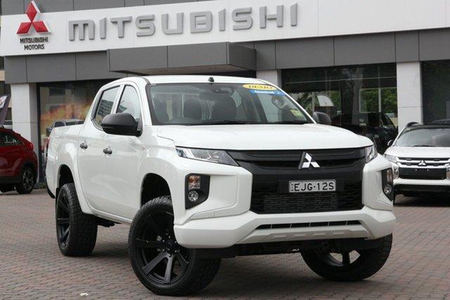 Used Mitsubishi Triton MR MY19 GLX Double Cab Parramatta, 2019 Mitsubishi Triton MR MY19 GLX Double Cab White 6 Speed Manual Utility
