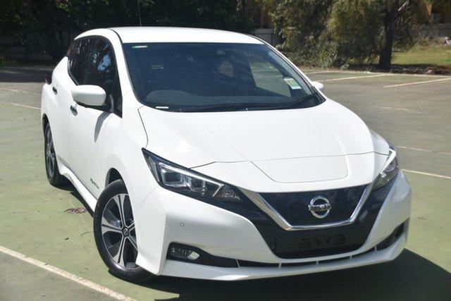 New Nissan Leaf ZE1 St Marys, 2019 Nissan Leaf ZE1 Arctic White 1 Speed Reduction Gear Hatchback