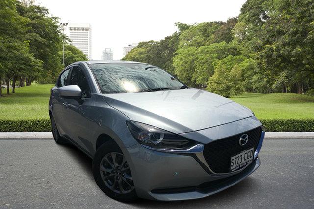 Used Mazda 2 DJ2HAA G15 SKYACTIV-Drive Pure, 2020 Mazda 2 DJ2HAA G15 SKYACTIV-Drive Pure Silver 6 Speed Sports Automatic Hatchback