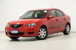 2006 Mazda 3 BK Neo Red 5 Speed Manual Sedan.