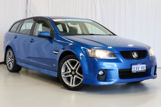 2011 Holden Commodore VE II MY12 SV6 Sportwagon Blue 6 Speed Sports Automatic Wagon.