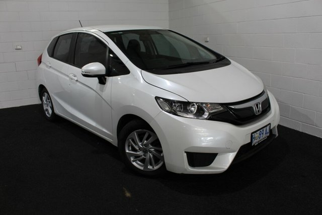 Used Honda Jazz GF MY17 VTi Glenorchy, 2017 Honda Jazz GF MY17 VTi White 5 Speed Manual Hatchback
