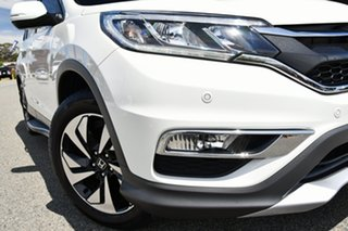 2015 Honda CR-V RM Series II MY17 Limited Edition 4WD White 5 Speed Sports Automatic Wagon.