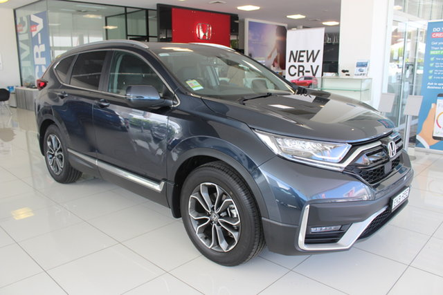 Demo Honda CR-V RW MY21 VTi FWD L7, 2020 Honda CR-V RW MY21 VTi FWD L7 Cosmic Blue 1 Speed Constant Variable Wagon