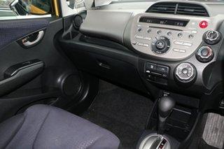 2008 Honda Jazz GE GLi Yellow 5 Speed Automatic Hatchback