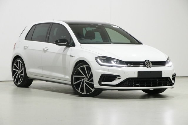 Used Volkswagen Golf AU MY18 R Grid Edition Bentley, 2018 Volkswagen Golf AU MY18 R Grid Edition White 7 Speed Auto Direct Shift Hatchback