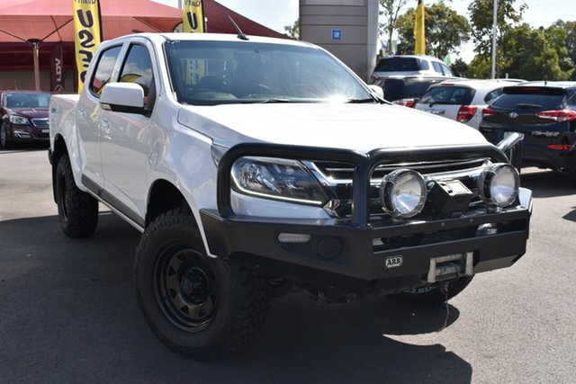 Used Holden Colorado RG MY18 LS Pickup Crew Cab Tuggerah, 2018 Holden Colorado RG MY18 LS Pickup Crew Cab White 6 Speed Sports Automatic Utility