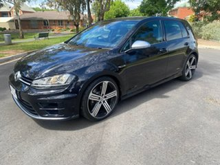 2014 Volkswagen Golf VII MY15 R DSG 4MOTION Black 6 Speed Sports Automatic Dual Clutch Hatchback
