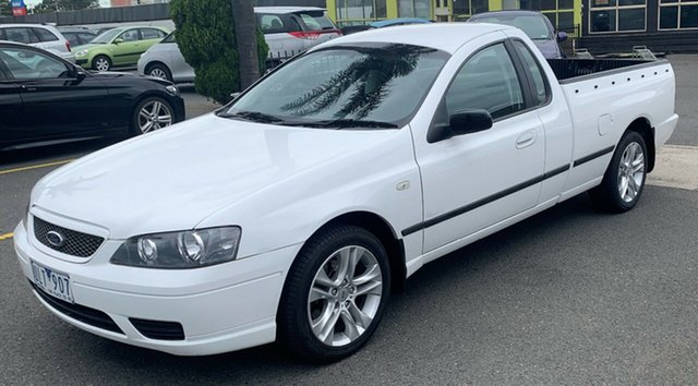 """Used Ford Falcon BF , 2006 Ford Falcon BF XL UTE """"180000KM"""" 4 Speed Sports Automatic Utility"""