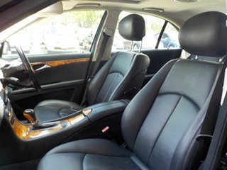 2008 Mercedes-Benz E-Class W211 MY08 E280 Elegance Black 7 Speed Sports Automatic Sedan