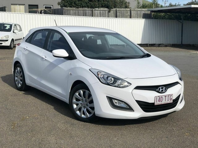 Used Hyundai i30 GD Active, 2013 Hyundai i30 GD Active White 6 Speed Manual Hatchback