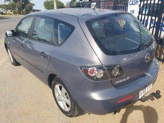 2008 Mazda 3 BK1032 MY08 SP23 Silver 5 Speed Sports Automatic Hatchback