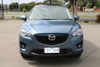 2014 Mazda CX-5 MY13 Upgrade Akera (4x4) Blue 6 Speed Automatic Wagon.