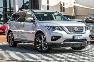 2020 Nissan Pathfinder R52 Series III MY19 Ti X-tronic 4WD Silver 1 Speed Constant Variable Wagon.