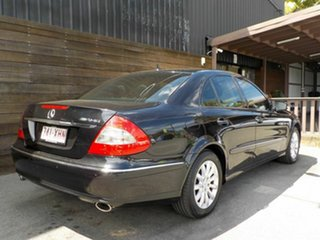 2008 Mercedes-Benz E-Class W211 MY08 E280 Elegance Black 7 Speed Sports Automatic Sedan.