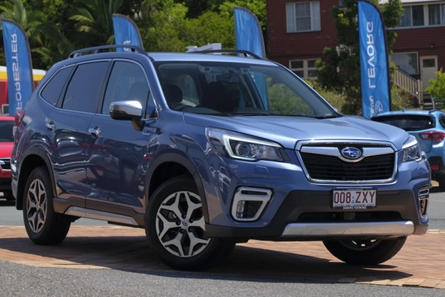 Used Subaru Forester S5 MY20 Hybrid L CVT AWD, 2019 Subaru Forester S5 MY20 Hybrid L CVT AWD Blue 7 Speed Constant Variable Wagon Hybrid