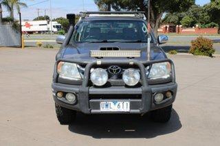 2007 Toyota Hilux KUN26R 07 Upgrade SR5 (4x4) Grey 5 Speed Manual Dual Cab Pick-up.