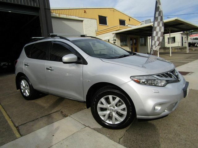 Used Nissan Murano Z51 Series 3 ST Moorooka, 2012 Nissan Murano Z51 Series 3 ST Silver 6 Speed Constant Variable Wagon
