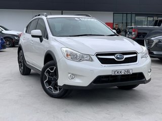 2012 Subaru XV G4X MY12 2.0i AWD White 6 Speed Manual Wagon.