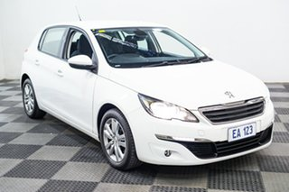 2017 Peugeot 308 T9 MY18 Active White 6 Speed Automatic Hatchback