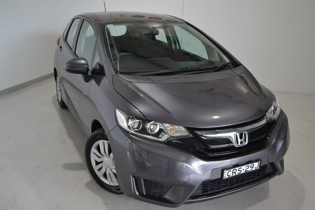 Used Honda Jazz GF MY15 VTi, 2014 Honda Jazz GF MY15 VTi Grey 1 Speed Constant Variable Hatchback