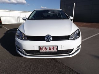 2012 Volkswagen Golf VII 110TDI DSG Highline White 6 Speed Sports Automatic Dual Clutch Hatchback