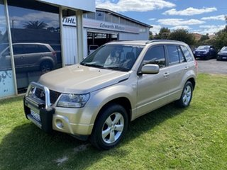 2011 Suzuki Grand Vitara JT MY08 Upgrade - Beige 5 Speed Manual Wagon.
