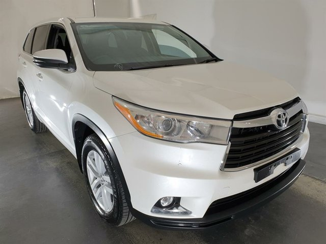 Used Toyota Kluger GSU55R GX AWD, 2014 Toyota Kluger GSU55R GX AWD White 6 Speed Sports Automatic Wagon