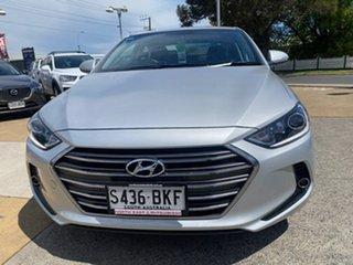 2015 Hyundai Elantra AD MY17 Elite Silver 6 Speed Sports Automatic Sedan.