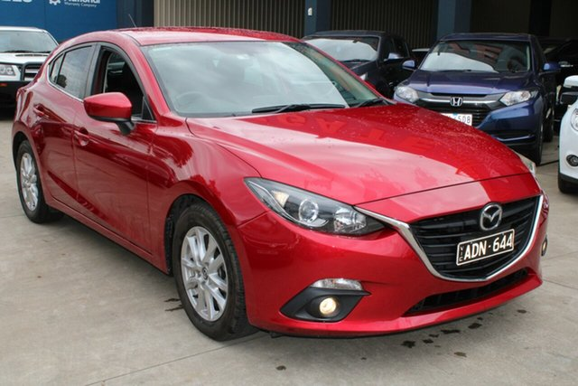 Used Mazda 3 BM MY15 Maxx West Footscray, 2015 Mazda 3 BM MY15 Maxx Red 6 Speed Manual Hatchback