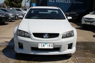 2010 Holden Commodore VE MY10 SV6 White 6 Speed Automatic Utility.