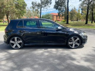 2014 Volkswagen Golf VII MY15 R DSG 4MOTION Black 6 Speed Sports Automatic Dual Clutch Hatchback.