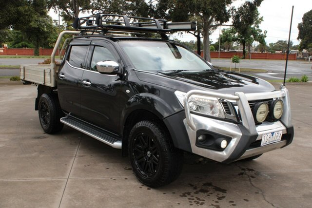 Used Nissan Navara NP300 D23 ST (4x4) West Footscray, 2015 Nissan Navara NP300 D23 ST (4x4) Black 6 Speed Manual Dual Cab Utility