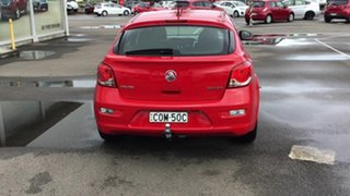 2013 Holden Cruze JH Series II MY13 Equipe Red 6 Speed Sports Automatic Hatchback