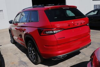 2020 Skoda Kodiaq NS MY21 RS DSG Velvet Red 7 Speed Sports Automatic Dual Clutch Wagon.
